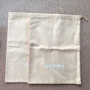 Acne Studios dust bags